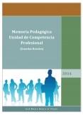 Memoria Pedagógica de Competencia Profesional