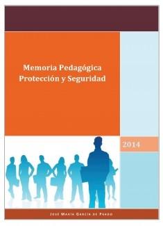 Memoria Pedagógica de Protección y Seguridad