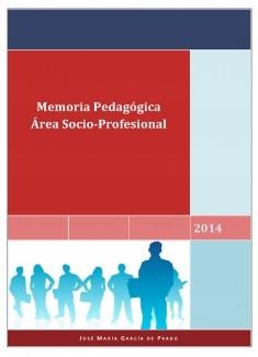 Memoria pedagógica Socio Profesional