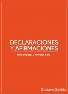 Declaraciones y Afirmaciones