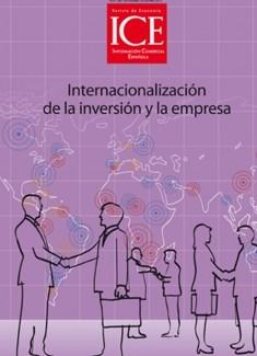 Revista de Economía. Información Comercial española (ICE). Núm. 887 Internacionalización de la inversión y la empresa