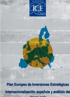 Boletín Económico. Información Comercial Española (ICE). Núm. 3075 Plan Europeo de Inversiones Estratégicas