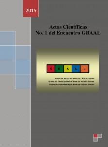 Actas Científicas No1 del Encuentro GRAAL