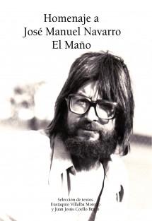 Homenaje a José Manuel Navarro Latorre
