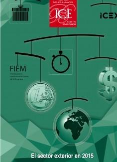 Boletín Económico. Información Comercial Española (ICE). Núm. 3077                           El sector exterior en 2015