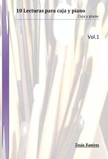 10 Lecturas para Caja y piano Vol,1