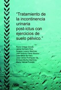 """""""Tratamiento de la incontinencia urinaria post-ictus con ejercicios de suelo pélvico."""""""