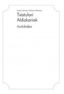 Txistulari Aldizkariak - Aurkibidea