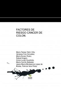 FACTORES DE RIESGO CÁNCER COLON