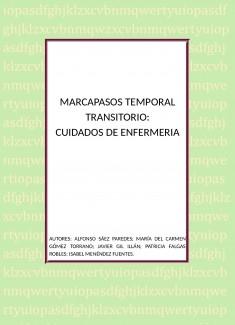MARCAPASOS TEMPORAL TRANSITORIO: CUIDADOS DE ENFERMERÍA