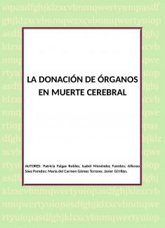 LA DONACIÓN DE ÓRGANOS EN MUERTE CEREBRAL