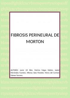 FIBROSIS PERINEURAL DE MORTON