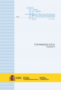 "TEXTO LEGAL Nº 8/2016 ""CONTABILIDAD LOCAL"" (Actualización junio 2016) VOLUMEN II"