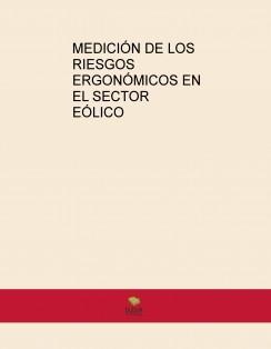 MEDICIÓN DE LOS RIESGOS ERGONÓMICOS EN EL SECTOR EÓLICO