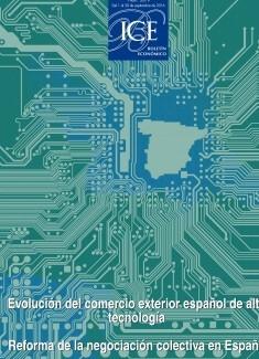 Boletín Económico.Información Comercial Española (ICE). Núm. 3079                        Evolución del comercio exterior español de alta tecnología