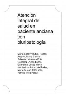 Atención integral de salud en paciente anciana con pluripatología