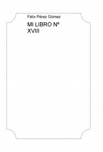 MI LIBRO Nº XVIII