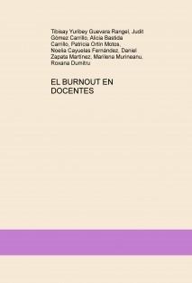 EL BURNOUT EN DOCENTES