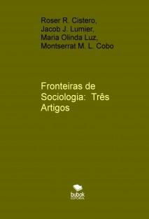 Livro de sociologia publicado por Sociólogos sem Fronteiras - SSF/RIO