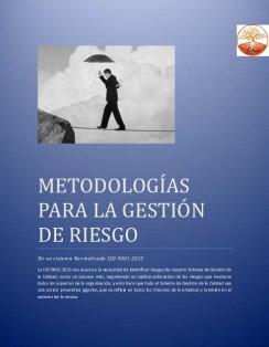 Metodologías para la Gestión del Riesgo ISO 9001