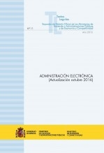 """TEXTO LEGAL Nº 11/2016 """"ADMINISTRACIÓN ELECTRÓNICA"""" (Actualización octubre 2016)"""