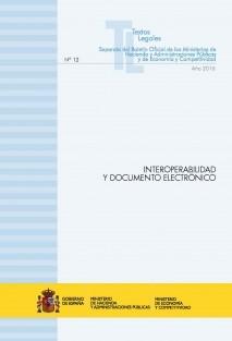 """TEXTO LEGAL Nº 12/2016 """"INTEROPERABILIDAD Y DOCUMENTO ELECTRÓNICO"""""""
