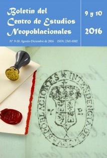 Boletín del CEN nº 9 y 10 (agosto y diciembre de 2016)