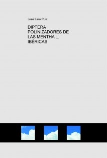 DIPTERA POLINIZADORES DE LAS MENTHA L. IBÉRICAS