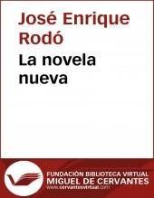 Libro La novela nueva, autor Biblioteca Miguel de Cervantes