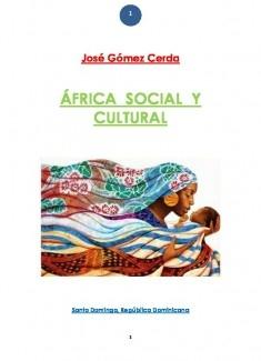 AFRICA SOCIAL Y CULTURAL