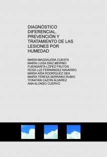 DIAGNÓSTICO DIFERENCIAL, PREVENCIÓN Y TRATAMIENTO DE LAS LESIONES POR HUMEDAD