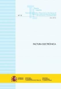 """TEXTO LEGAL Nº 15/2016 """"FACTURA ELECTRÓNICA"""" (Actualización noviembre 2016)"""