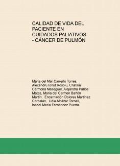CALIDAD DE VIDA DEL PACIENTE EN CUIDADOS PALIATIVOS - CÁNCER DE PULMÓN