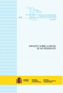 "TEXTO LEGAL Nº 5/2017 ""IMPUESTO SOBRE LA RENTA DE NO RESIDENTES"""