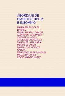 ABORDAJE DE DIABETES TIPO 2 E INSOMNIO