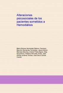 Alteraciones psicosociales de  pacientes sometidos a Hemodiálisis