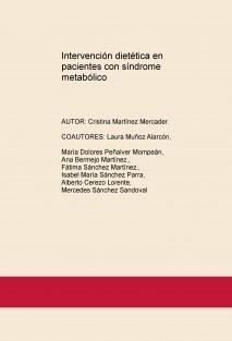 Intervención dietética en pacientes con síndrome metabólico