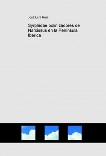 Syrphidae polinizadores de Narcissus en la Península Ibérica