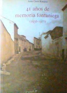 41 años de memoria fontaniega