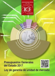 Boletín Económico. Información Comercial Española (ICE). Núm. 3089. Presupuestos generales del Estado. Ley de garantía de unidad de mercado