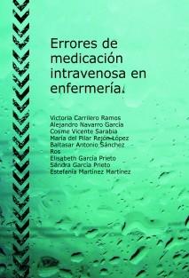 Errores de medicación intravenosa en enfermería.