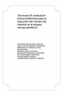 """""""Illumivein ®; evaluación clínica Enfermera para la reducción del número de intentos en el acceso venoso periférico"""""""