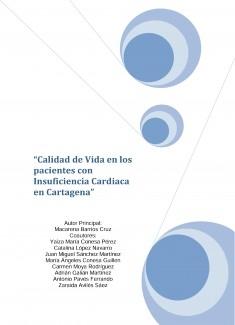 Calidad de vida en los pacientes con Insuficiencia Cardiaca en Cartagena