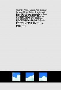 ESTUDIO SOBRE LA ANSIEDAD DEL LOS PROFESIONALES DE ENFERMERÍA ANTE LA MUERTE