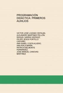 PROGRAMACIÓN DIDÁCTICA: PRIMEROS AUXILIOS