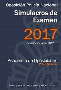 Simulacros de examen tipo Test - Oposición Policía Nacional
