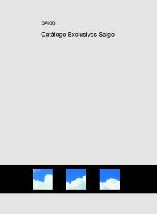 Catálogo Exclusivas Saigo