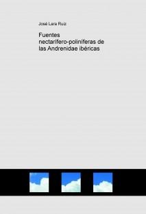 Fuentes nectarífero-poliníferas de las Andrenidae ibéricas