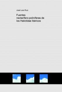 Fuentes nectarífero-poliníferas de los Halictidae Ibéricos