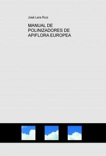 MANUAL DE POLINIZADORES DE APIFLORA EUROPEA